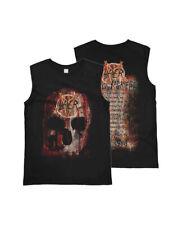 Amplified SLAYER - World Sacrifice Tour - Men's Black Sleeveless T-Shirt