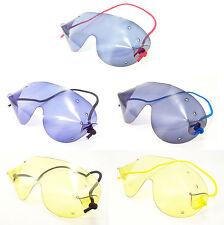 FLEXVISION MINI SkyDiving Parachute Freefall Goggles  Coloured Lens  FREE UK P+P