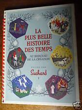 AU BERCEAU DE LA CREATION SUCHARD IMAGE CHROMO COMPLET