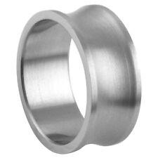 Men Women 10MM Stainless Steel Matte Finish Wedding Band Ring