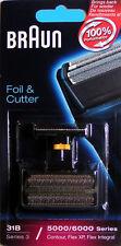 Braun Foil + Razor BLOCK 31B 5000/6000 ser. 3 SW