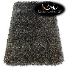 AMAZING SOFT & THICK RUG - LOVE SHAGGY black, brown- 160 x 230 cm- BIG SALE -70%