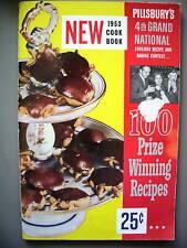 PILLSBURY'S 4TH GRAND NATIONAL COOKBOOK 1953 1ST EDITI.