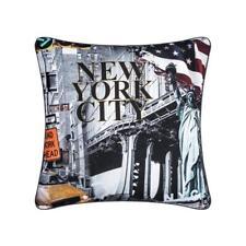 "Vintage New York City Cushions  Printed Cushion Covers 18 x 18"" (45 x 45cm)"