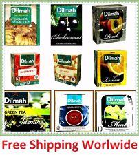 Sri Lanka Ceylon Dilmah Flavored Tea Vanila,Lychee,Ginger Spice,Raspbery & more
