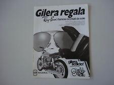advertising Pubblicità 1974 GILERA 125 ARCORE e RAY BAN