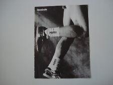 advertising Pubblicità 1987 SCARPE REEBOK