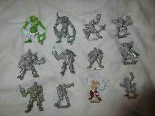 warhammer blood bowl multi listing star players metal figures  please choose