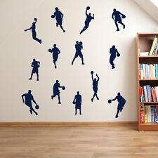Basketball Player Basketballer Hoop Sport Wall Stickers Decals Children Kids A34