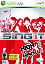 Xbox 360 : Disney Sing It: High School Musical 3 Se VideoGames