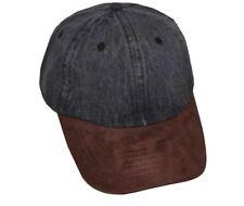 3844c3f3d20 item 2 Newhattan Men s Cotton Denim With Synthetic Suede Baseball Cap  -Newhattan Men s Cotton Denim With Synthetic Suede Baseball Cap