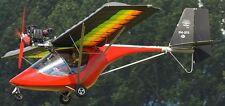 C-22 Fox Deutschland Comco Ikarus Flugzeug Mahagoni Kiln Holz Modell groß NEU