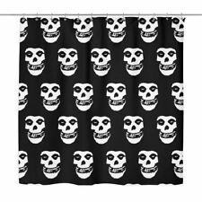 The Misfits Crimson Ghost Shower Curtain shirt punk skull shirt