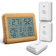 5X LCD-Digital-Thermometer Hygrometer Feuchtigkeit Temperatur-Messgeraet U V GK