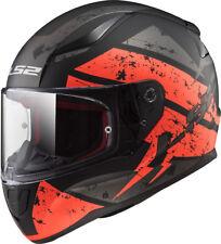 LS2 FF353 RAPID LIGHTWEIGHT FULLFACE MOTORCYCLE MOTORBIKE HELMET DEADBOLT ORANGE