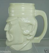 Avon Custard Glass Mug Casey at Bat M for Muddsville on Cap Mint!