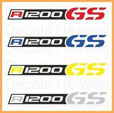 "BMW R1200GS 2pcs Logo ""Beak"" Stickers R 1200 GS Decals M#2"
