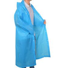 Unisex Rain Jacket EVA Raincoat Rain Coat Men Women Wind Waterproof Regular US