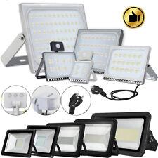 10W-1000W LED Fluter mit Bewegungsmelder mit Stecker Außen Strahler Flutlicht