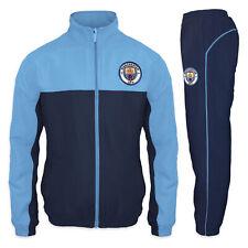 Manchester City FC Ufficiale Calcio Regalo da Uomo Giacca e Pantaloni Tuta Set