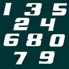 5 cm Zahlen Aufkleber Klebezahlen Ziffern Sticker 1 bis 200 Stück weiß SA-77