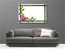 Cuadro pinturas decoración en kit Bambúes Orquídea ref 49136959