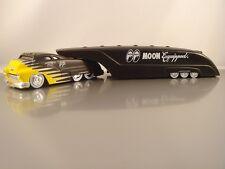 Moon Eyes Mooneyes Sledster Flat Black Drag Bus Evo BossCo Custom Crew