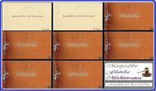 LIBRO LIBRETTO FRANCOBOLLI d' ITALIA [ Edizione OMAGGIO Poste ] dal 1952 al 1959