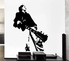 Wall Sticker Rock Hero Guitar Music Notes Cool Pop Art For Living Room (z2610)