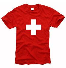 Schweizer Kreuz SWISS Cross - T-Shirt- Gr. S bis XXL