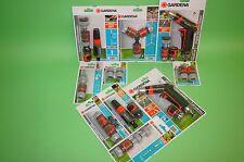 GARDENA® Verbinder Verteiler Adapter Kupplung, etc. - Satz/Set  - zur Auswahl