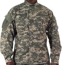 ACU DIGITAL CAMO ARMY MENS COMBAT UNIFORM SHIRT JACKET ROTHCO 5765 SIZE S TO 3X