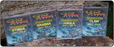 Brand New Atomic Tackle Gunsmoke Hooks - Choda Haula Claw Grabba Sabra Trappa