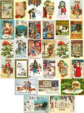 vintage christmas images to print