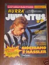 HURRA' JUVENTUS 1991/1 TARANTO PISA THOMAS HASSLER BARI