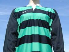 BNWT Nike Dri Fit Verde Blanco Negro Camisa Adulta De La Xl