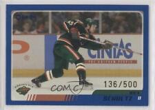 2003-04 Topps Blue #67 Nick Schultz Minnesota Wild Hockey Card