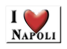 CALAMITA CAMPANIA ITALIA FRIDGE MAGNET MAGNETE SOUVENIR I LOVE NAPOLI (NA)