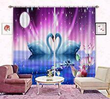 3D Sawn Love 83 Blockout Photo Curtain Printing Curtains Drapes Fabric Window Au