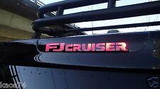 Toyota FJ Cruiser 3rd brake decal overlay 2015 2016