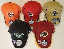 NFL Reebok Official Sideline Headwear Structured Flex Curve Brim Cap Hat  NEW!