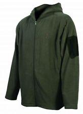 Browning Men's Hooded Fleece Jacket w/ Sleeve Pocket Mens  BRI0028 LODEN