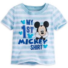 "Disney Store ""My First ""Mickey Mouse Camiseta de Niño Talla 3 6 9 12 Meses"