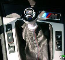 BMW  E34 E36 E46 E90 M3 CUFFIA CAMBIO PELLE CUCITURE M