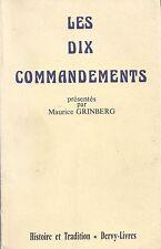 Les Dix Commandements - Maurice Grinberg