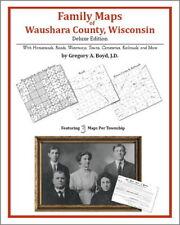 Family Maps Waushara County Wisconsin Genealogy WI Plat