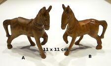 cheval en bois sculpté, 2 modèles au choix