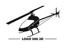 Mikado Logo 500 3D FBL Aufkleber