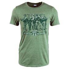 Para Hombre equipo de rescate no asesinos Predator T Shirt Militar Verde Nuevo neerlandés 80s