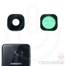 SAMSUNG Galaxy S7 G930 G930F FOTOCAMERA POSTERIORE RETRO reale lente in vetro con gli strumenti +